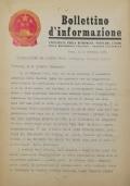 BULLETIN D'INFORMATION de l'Ambassade de la République Populaire de Chine - Berne - N. 303 le 2 décembre 1970