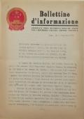 BOLLETTINO D'INFORMAZIONE Ambasciata della Repubblica Popolare Cinese nella Repubblica Italiana - Roma, lì 3 dicembre 1971
