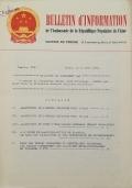 BULLETIN D'INFORMATION de l'Ambassade de la République Populaire de Chine - Berne - N. 311 le 16 mars 1971
