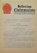 BOLLETTINO D'INFORMAZIONE Ambasciata della Repubblica Popolare Cinese nella Repubblica Italiana - Roma, lì 9 Agosto 1971