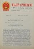 BULLETIN D'INFORMATION de l'Ambassade de la République Populaire de Chine - Berne - N. 393 le 24 juin 1970
