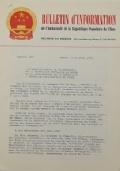BULLETIN D'INFORMATION de l'Ambassade de la République Populaire de Chine - Berne - N. 230 le 29 janvier 1968