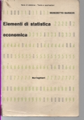ELEMENTI DI STATISTICA ECONOMICA