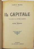 КАПИТАЛ Том перый (IL CAPITALE Libro primo)