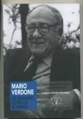 MARIO VERDONE. LO SGUARDO OLTRE LO SCHERMO. Atti della giornata di studio, Siena 6 dicembre 2017
