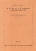 SCRITTURE E SCRITTORI DEL SECOLO XI