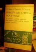 PRINCIPI DELLA CHIMICA INDUSTRIALE 2 Catalisi e cinetica applicata