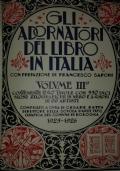 Gli adornatori del libro in Italia. Vol. IV