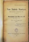 I B.B. MARTIRI DEL SETTEMBRE 1792 A PARIGI