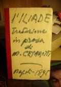 L'ILIADE d'Omero  Traduzione in prosa di M. Cesarotti