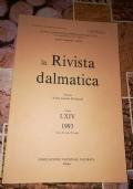 LA RIVISTA DALMATICA