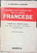 Grammatica elementare della lingua francese