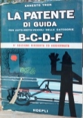 La patente di guida per auto moto-veicoli delle categorie B-C-D-F