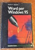 Word per Windows 95 SIGILLATO