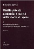 Diritto privato economia e società nella storia di Roma