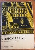 Versioni latine sulla morfologia e sulla sintassi dei casi Cattani 1968
