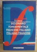 DIZIONARIO FONDAMENTALE FRANCESE-ITALIANO ITALIANO-FRANCESE