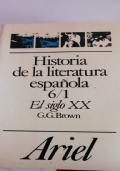 Historia de la literatura espanola 6/1 El siglo xx