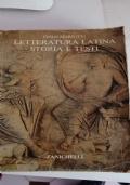 letteratura latina storia e testi