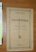Mefistofele opera completa per pianoforte solo