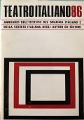 Annuario I.D.I. - S.I.A.E Teatro italiano Stagione '85-'86