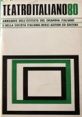 Teatro italiano '80 Annuario I.D.I. - S.I.A.E