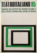 Annuario I.D.I. - S.I.A.E Teatro italiano Stagione '84-'85