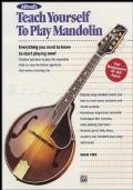 Teach Yourself to Play Mandolin Tutor Book Method Learn How To Play