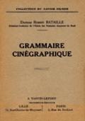 GRAMMAIRE CINÉGRAPHIQUE