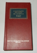 CALENDARIO ATLANTE DE AGOSTINI 1987