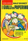 I GIALLI DI PAPERINO  i classici di Walt Disney num. 13