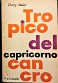 Tropico del Cancro, Tropico del Capricorno [prima edizione italiana, solo per il mercato estero]