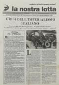 LA NOSTRA LOTTA Anno XXII n. 3 - Maggio 2000