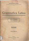 Grammatica latina - dall'esempio alla regola