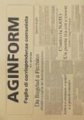 AGINFORM Foglio di corrispondenza comunista N. 36 settembre 2003