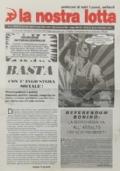 LA NOSTRA LOTTA Anno XX n. 3 - Maro 1998