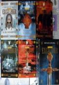 Il romanzo di Excalibur - lotto storico libri Re Art� SERIE COMPLETA