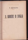 IL BARBIERE DI SIVIGLIA, OPERA COMPLETA PER CANTO E PIANOFORTE