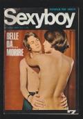 sexyboy fotofilm anno I n. 7 belle da morire