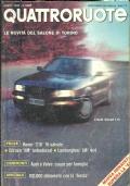 Rivista ''QUATTRORUOTE'' n.414. Anno XXXV. Aprile 1990. Le novità del Salone di Torinoi. Rover ''216'' 16 valvole. Citroen ''XM'' turbodiesel. Lamborghini ''LM'' 4x4. Audi e Volvo: coupé per le famiglie. Speciale: 100.000 km con la Fiesta.