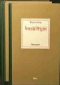 VENEZIA ORIGINI - FONDAMENTI, IPOTESI, METODI - 3 VOLUMI - 3° VOLUME CARTELLA CON TAVOLE