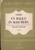 ERI TU CHE MACCHIAVI QUELL'ANIMA DALL'OPERA UN BALLO IN MASCHERA PER CANTO E PIANOFORTE BARITONO
