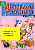 ALMANACCO TOPOLINO serie oro n. 213