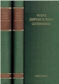 Nuove questioni di storia contemporanea Vol 1 e Vol 2