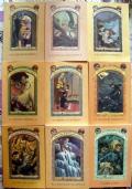Lotto 8 libri Lemony Snicket 1 2 3 4 5 6 7 11 ragazzi fantasy (Un infausto inizio + 7 volumi) Una serie di sfortunati eventi RISTAMPA