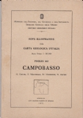 CARTA GEOLOGICA D'ITALIA, SALERNO E AMALFI