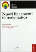 Nuovi lineamenti di matematica 1