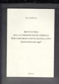 breve storia della cmmissione bicamerale 1997