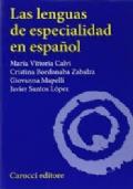 Las lenguas de especialidad en español