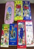 Lotto 7 libri Tony Wolf illustrati bambini ragazzi lettura fiabe racconti CAD034